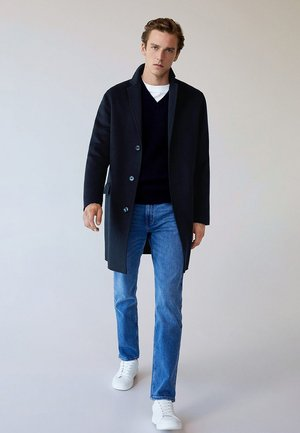 HARVEY-I - Cappotto corto - dark navy