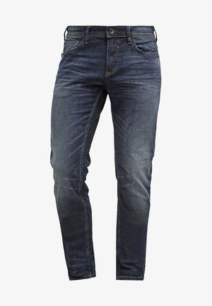 Slim fit jeans - dark stone wash denim