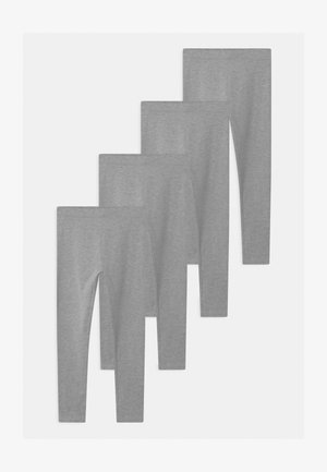 4 PACK - Leggings - grey