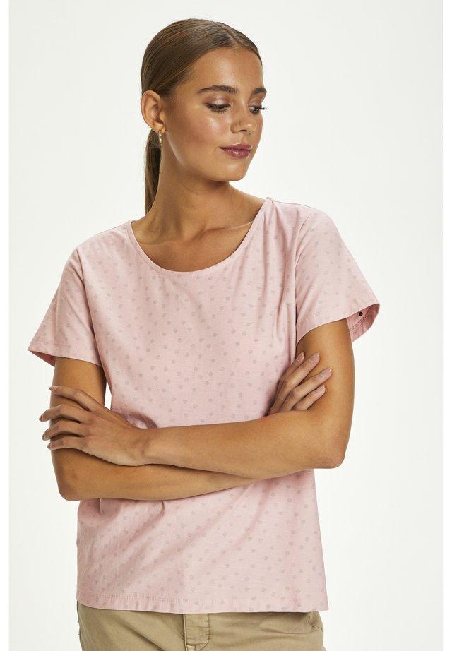 CRNEVA - T-shirt imprimé - burnished lilac dot