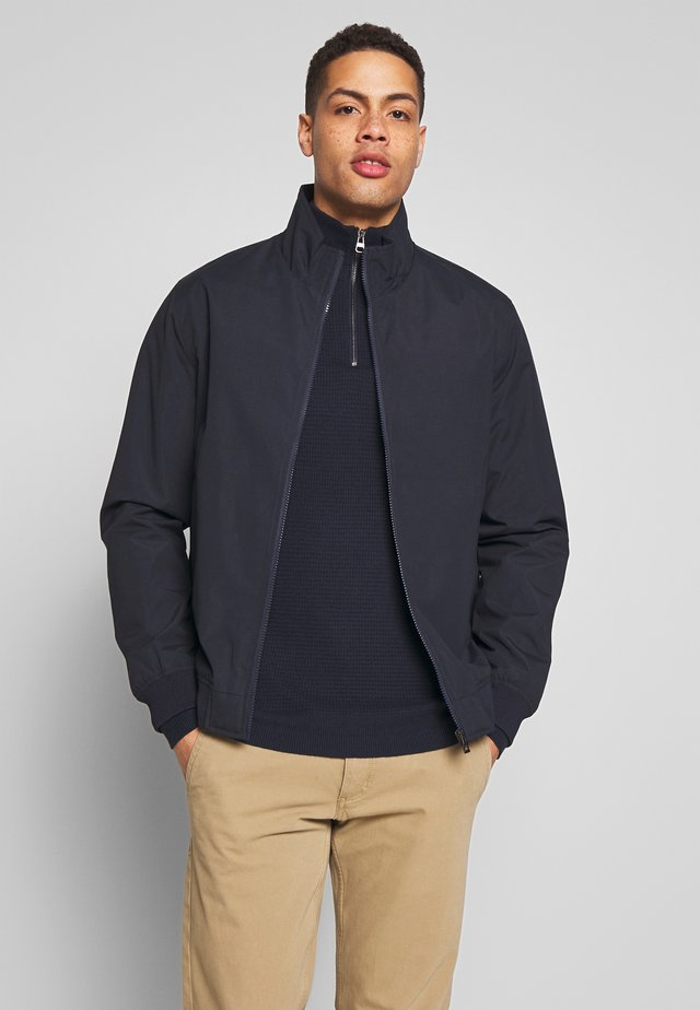 BASIC BOMBER* - Bomber Jacket - dark blue