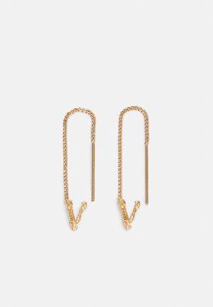 EARRINGS - Earrings - gold-coloured