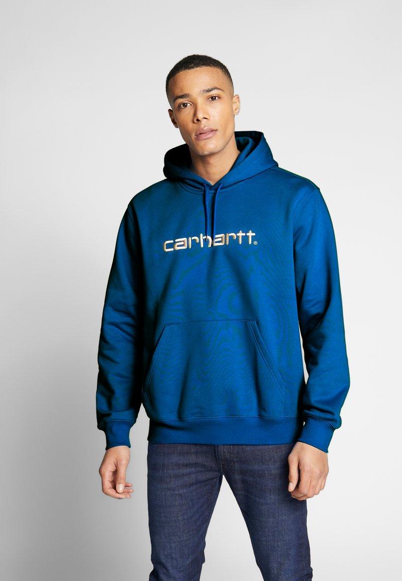 Carhartt WIP - Luvtröja - azzuro/white