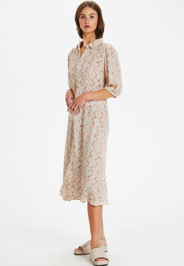 Sukienka koszulowa - whisper white splash print