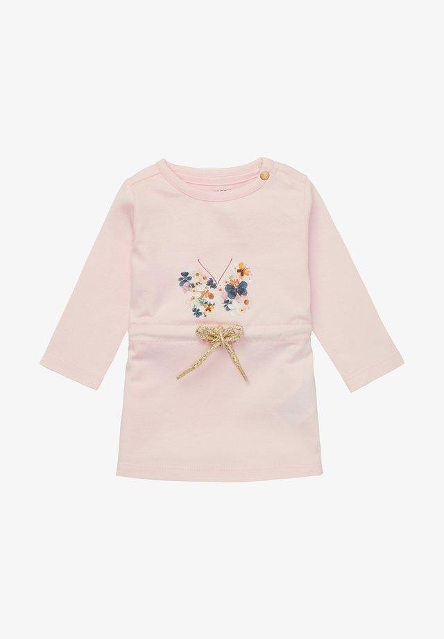 Korte jurk - primrose pink