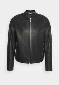 Just Cavalli - KABAN - Leather jacket - black - 0