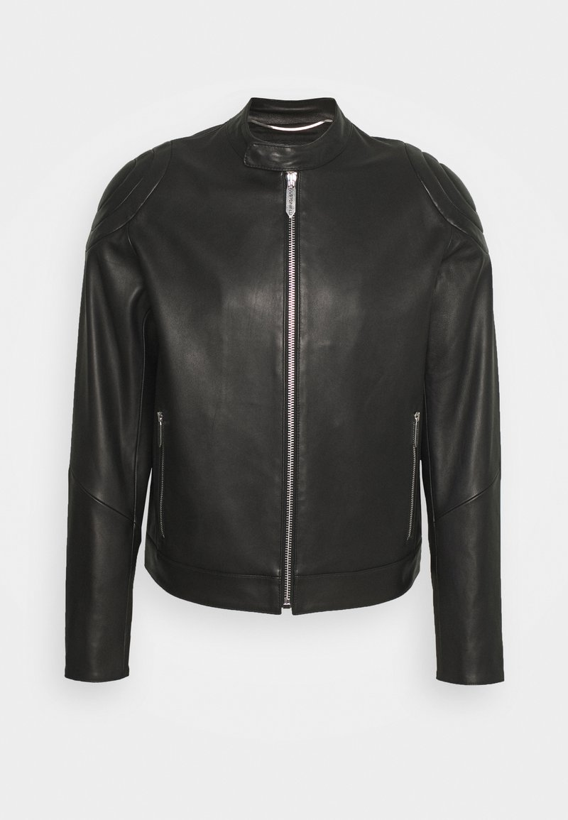 Just Cavalli - KABAN - Leather jacket - black