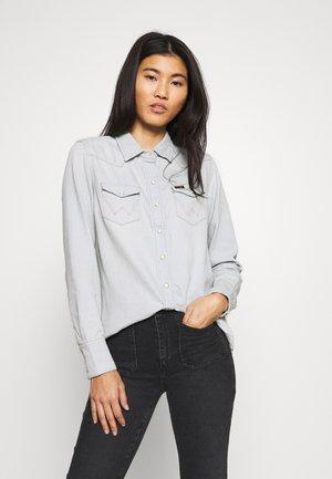 27WW - Button-down blouse - blue rhapsody