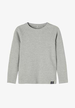 BIO - Long sleeved top - grey melange