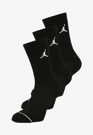 JUMPMAN CREW 3 PACK - Calcetines de deporte - black