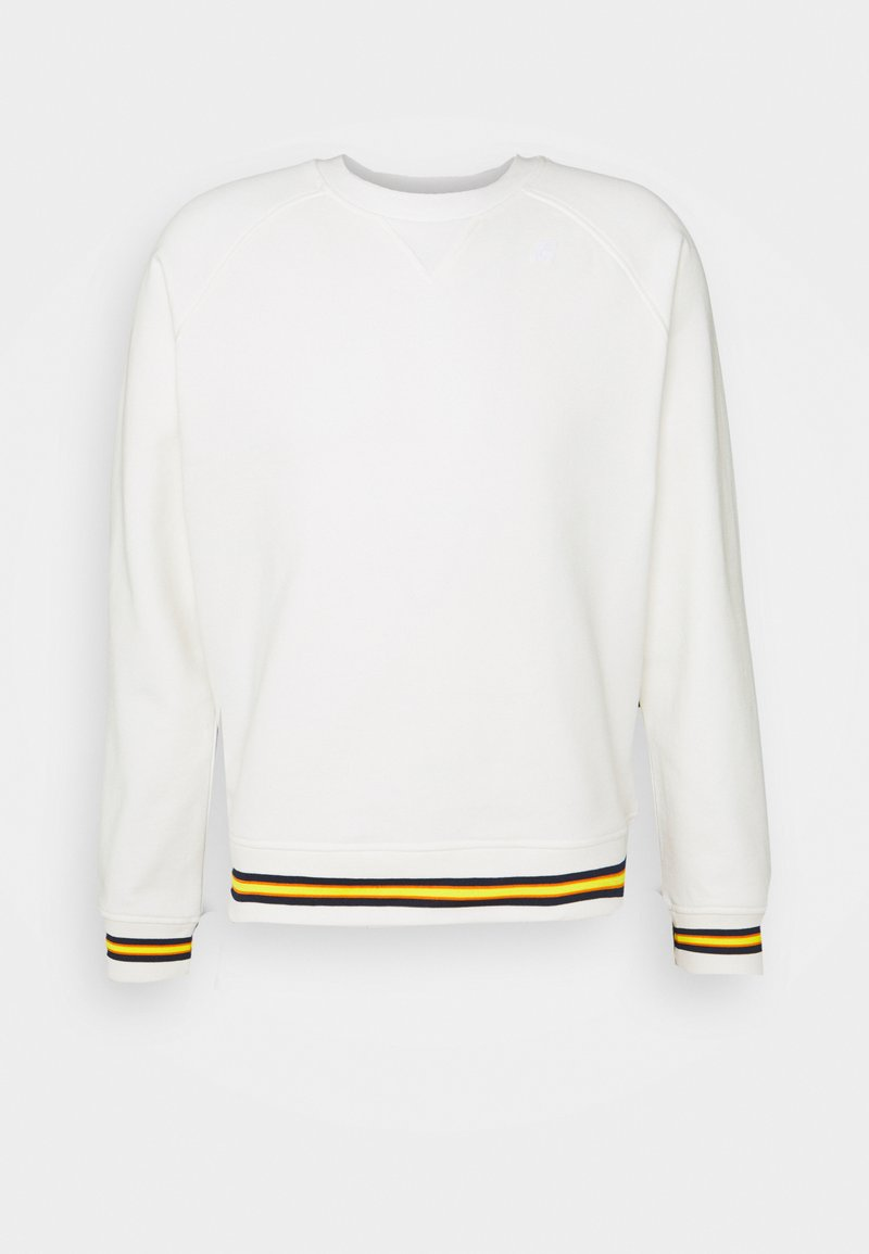 K-Way - EMANUEL TAPE UNISEX - Sweatshirt - white