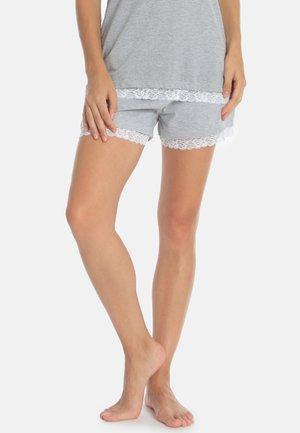 MELANGE MIX&MATCH - Pyjama bottoms - melange light grey