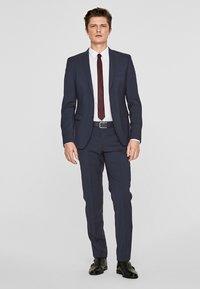 s.Oliver BLACK LABEL - CESANO - Suit trousers - blue - 1