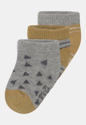 3 PACK UNISEX - Ponožky - yellow