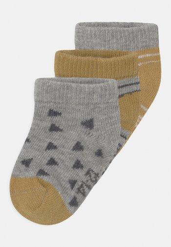 3 PACK UNISEX - Socks - yellow