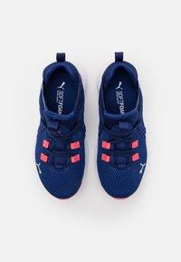 Puma - ENZO 2 WEAVE AC UNISEX - Neutral running shoes - elektro blue/island paradise - 3