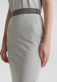 edc by Esprit - TUBE SKIRT - Bleistiftrock - light grey - 4
