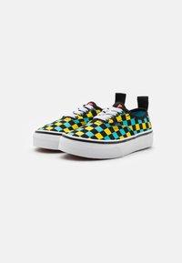 Vans - AUTHENTIC ELASTIC LACE UNISEX - Sneakers - black/multicolor - 1