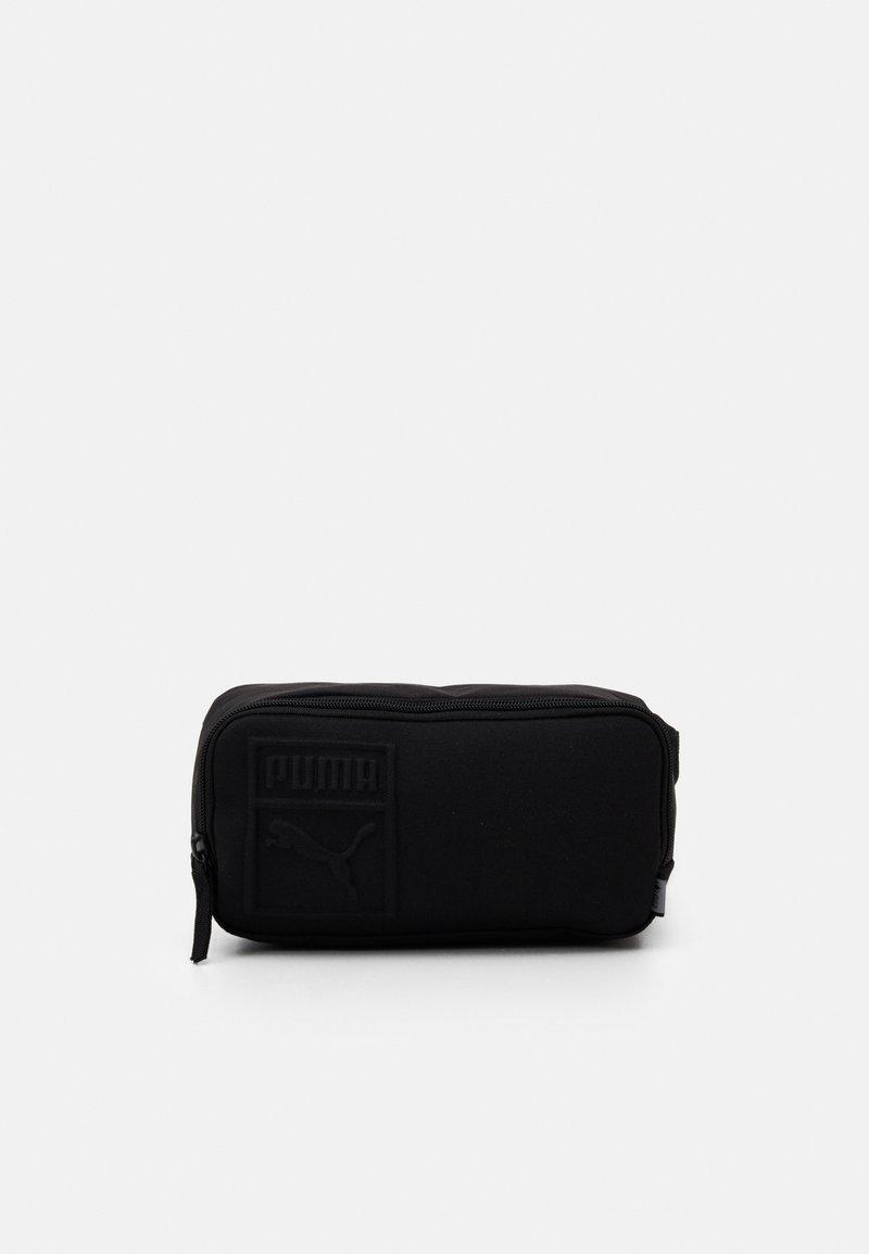 Puma - WAIST BAG UNISEX - Bum bag - black