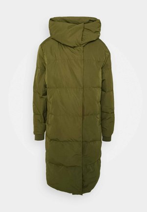 OBJLOUISE  - Down coat - burnt olive