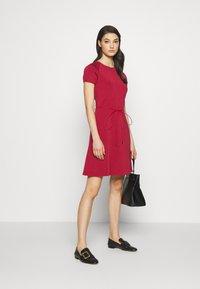 Bally - BELTED DRESS - Jumper dress - red - 1