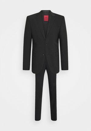AIDAN MAX SET - Kostym - black