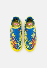 adidas Performance - X GHOSTED.3 LL FG UNISEX - Moulded stud football boots - blue/vivid red/yellow - 3