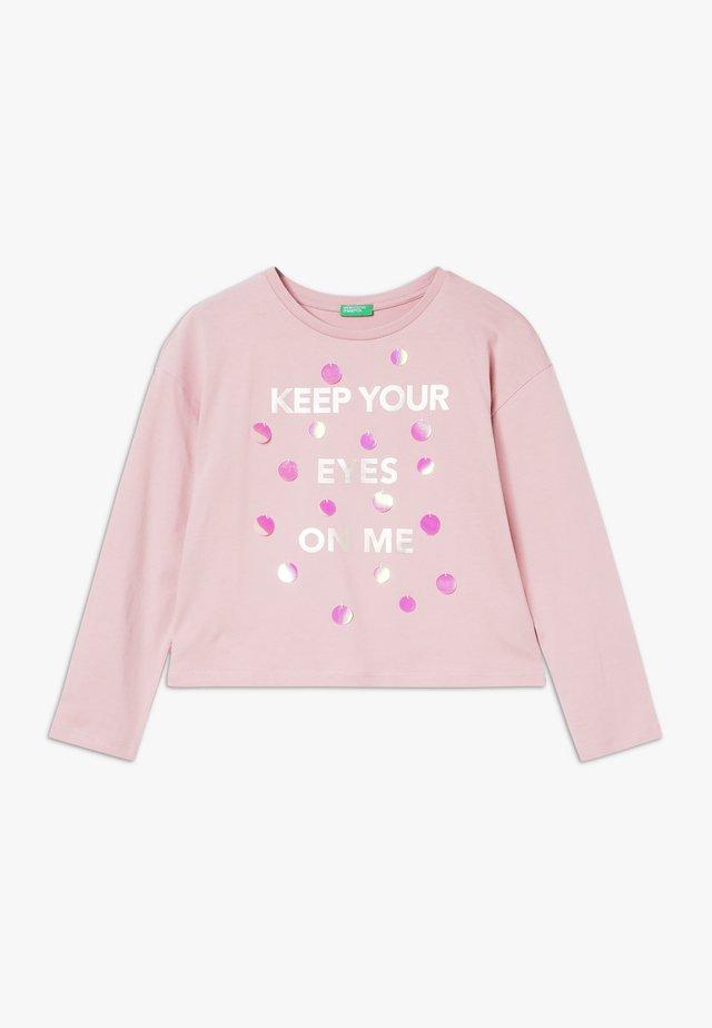 Pitkähihainen paita - light pink