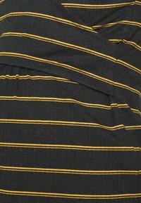MAMALICIOUS - NURSING - Bluzka z długim rękawem - dark grey melange/autumn blaze - 5
