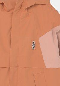 Gosoaky - DESERT FOX UNISEX - Waterproof jacket - terra cotta/evening pink - 3