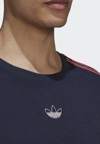 adidas Originals - STRIPE UNISEX - T-shirts print - legend ink - 4