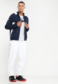 Lacoste Sport - TRACKSUIT - Träningsset - navy blue/white white - 1