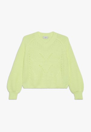 HEDVIG - Pullover - neon yellow