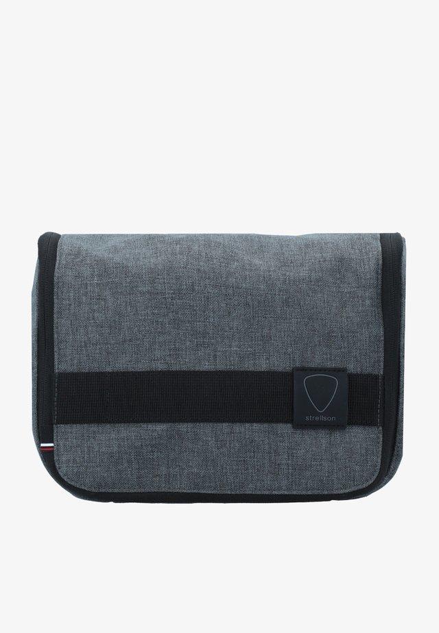 NORTHWOOD  - Toiletti-/meikkilaukku - dark grey
