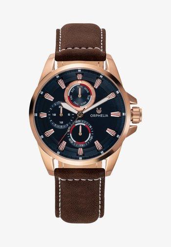 EDDINGTON - Chronograph watch - brown