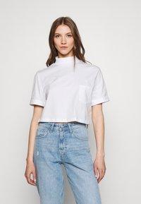 Even&Odd - Basic T-shirt - white - 0