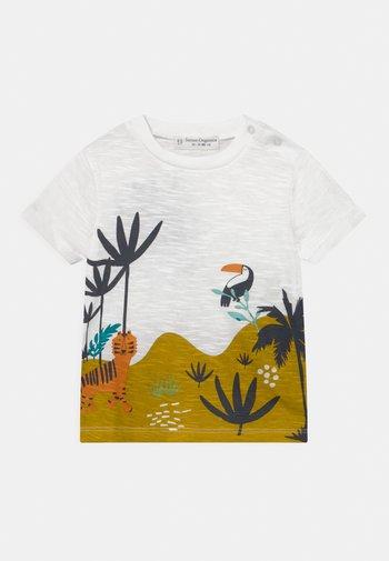 ODO BABY UNISEX - Print T-shirt - white