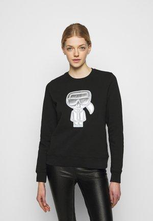 IKONIK PUFFER - Sweatshirt - black