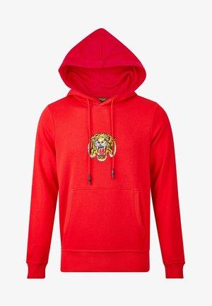 TIGER LOS HOODY - Hoodie - red
