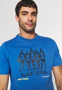 Puma - TEE - T-shirt con stampa - star sapphire - 3