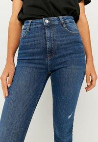 TALLY WEiJL - Jeans Skinny Fit - dark blue - 3