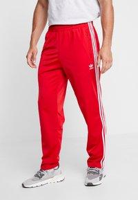 adidas Originals - FIREBIRD ADICOLOR TRACK PANTS - Trainingsbroek - scarlet - 0
