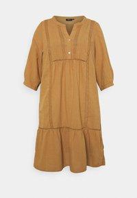 Zizzi - MAUSTIN KNEE DRESS - Day dress - chipmunk - 3
