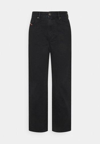 D-REGGY - Straight leg jeans - black