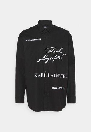 SHIRT CASUAL - Košile - black