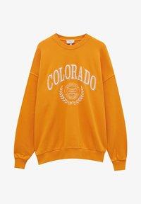 PULL&BEAR - Sweatshirt - orange - 4
