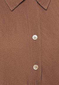 ARKET - Shirt dress - brown - 2