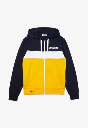 SH1506 - veste en sweat zippée - navy blau / gelb / gelb / weiß