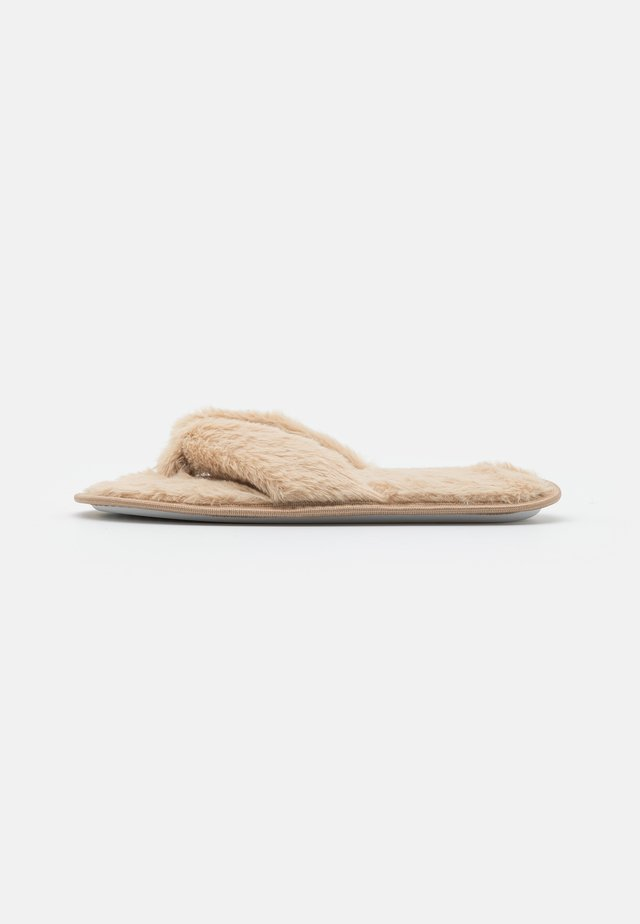 Slippers - nude