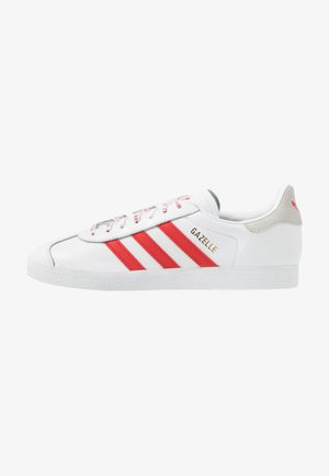 GAZELLE - Sneakers - footwear white/lush red/crystal white